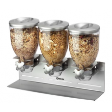 3-piece cereal dispenser Bartscher