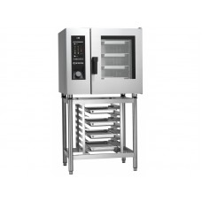 Combi gas oven  Steambox Evolution Giorik H model (with high efficiency boiler and touchscreen) SEHG061W