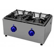 Gas cookers top 2 burners, transversal Primax Chef serie Safari MG0601