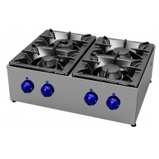 Gas cookers top 4 burners, Primax Chef serie Safari MG0604