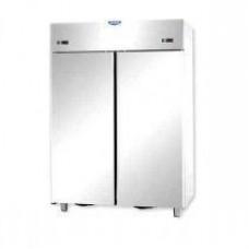 2 doors double temperature (NT + LT) Stainless Steel 1200 Refrigerated Cabinet Tecnodom AF12EKOPN