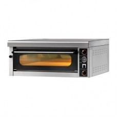 Oven for pizza GAM series M, model FORM4TR400 with a canopy