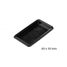 Big Tray square,100 Single Portions Tray – Rectangular 80 x 50 mm , 52.003.20.0002, Silicomart