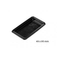 Big Tray square,100 Single Portions Tray – Rectangular 49 x 95 mm , 52.003.20.0002, Silicomart