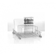 Insert for butchers, 5 rows (chopping boards and knives) from steel, 85 000 710, Winterhalter