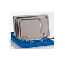 Insert for dripping pans and trays, 9 rows, from steel, 85 000 512, Winterhalter