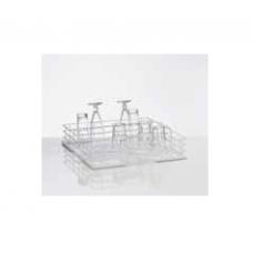 Wire mesh wash rack for glasses, nozzle in 5 rows, 25 glasses, size L, 36 01 208, Winterhalter