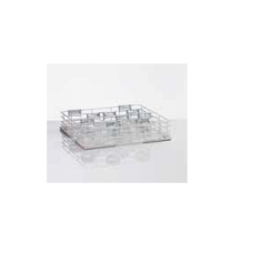 Wire mesh wash rack for glasses, nozzle in 4 rows, 20 glasses, size M, 36 01 200, Winterhalter