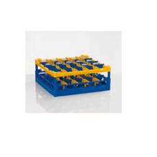 Plastic red wash rack for 25 glasses, size L,, 36 02 220, Winterhalter