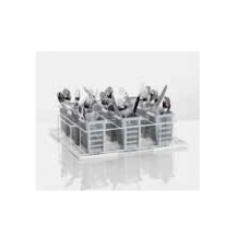 Wire mesh wash rack for installation of 9 cutlery containers, size L, 85 000 605, Winterhalter