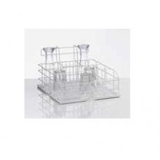 Wire mesh wash rack for glasses, nozzle in 3 rows, 12 glasses, size M, 36 01 202, Winterhalter