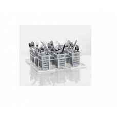 Wire mesh wash rack for installation of 6 cutlery containers, size S, 85 000 604, Winterhalter