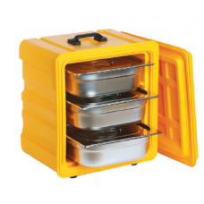 Thermobox yellow, GN 1/2, 100100, AVATHERM 50