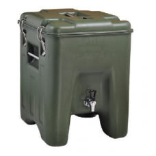 Waterbox green, with faucet, 100235, AVATHERM