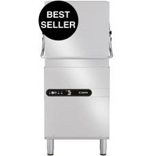 Pass-through dishwasher, basket 500x500, size 620x770x1435/1900h, CUBE LINE, CH110, Krupps