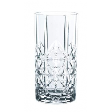 Set of 12 Longdrink glasses CROSS, HIGHLAND, 98232, Nachtmann