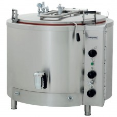 Electrical Industrial Boiling Pan, 300 lt Indirect Heat, OTEI 300, Ozti, 7855.00300.02