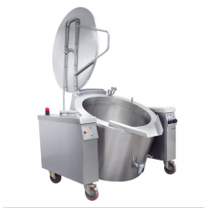 Electrical Cylindrical Tilting Boiling Pan 150 lt Indirect Heat, OKTEID 150, Ozti, 7855.150LE.02