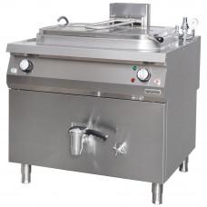 Electrical Industrial Boiling Pan, 250 lt , Inirect Heat, OTEIR 250, Ozti, 7855.N1.10118.07