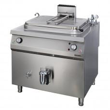 Electric Rectangular Boiling Pan 250 lt , Indirect Heat, OTEI 250, Ozti, 7855.N1.10908.07