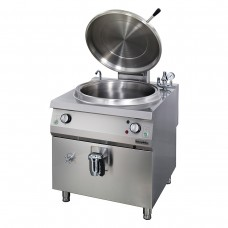 Electric Cylindrical Boiling Pan 100 lt , Indirect Heat, OTEI 100, Ozti, 7855.N1.80908.04
