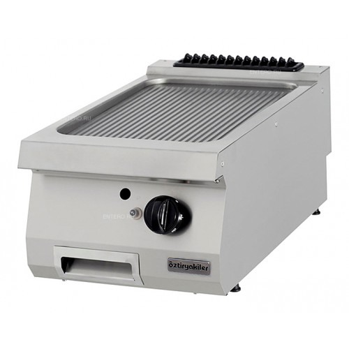 Half Module Ribbes Gas Grill, Chromium Plated , OGG 4070 N, series 700, Ozti, 7864.N1.40703.03C