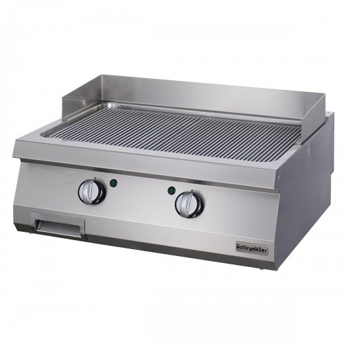 Full Module Ribbed Electric Grill, steel, OGE 8070 N, series 700, Ozti, 7864.N1.80703.11