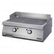 Full Module Ribbed Electric Grill, chrome plated, OGE 8070 N C, series 700, Ozti, 7864.N1.80703.11C