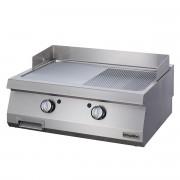 Half Module Smooth Electric Grill, steel, OGE 4070, series 700, Ozti, 7864.N1.40703.04