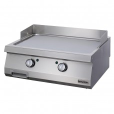 Full Module Smooth Electric Grill, chrome plated , OGE 8070 C, series 700, Ozti, 7864.N1.80703.17C