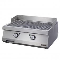 Full Module Ribbed Electric Grill, 900 serie, Chromium Plated, OGE 8090 N C, Ozti, 7864.N1.80903.11C