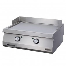 Full Module Smooth Electric Grill, 900 serie, Chromium Plated, OGE 8090 C, Ozti, 7864.N1.80903.17C