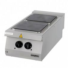 Full Module 2 Hot Plates Electric Boiling Top, 900 serie, OSOE 4090, Ozti, 7865.N1. 40903.21