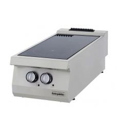 Half Module 2 Infrared Heaters Electric Boiling Top, OSC 4070, series 700, Ozti, 7865.N1.40703.CS