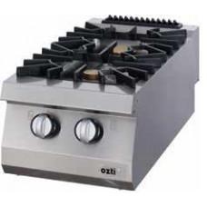 Full Module Gas Boiling Top, 2 Open Burners, 900 Serie, OSOG 4090, Ozti, 7865.N1.40903.20