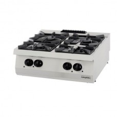 Gas Boiling top, with 4 burners, series 700, OSOG 8070 L, series 700, Ozti, 7865.N1.80703.35L