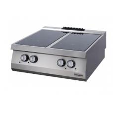 Full Module 4 Infrared Heaters Electric Boiling Top, OSC 8070, series 700, Ozti, 7865.N1.80703.CS