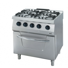 Gas Range, with gas oven, OSOGF 8070 L, series 700, Ozti, 7865.N1.80708.10L