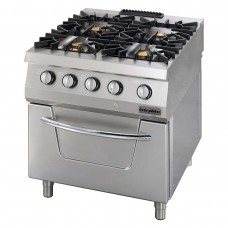 Gas Range, with gas oven OSOGF 8070 LS, series 700, Ozti, 7865.N1.80708.10LS