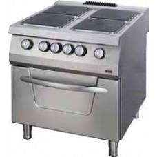 Full Module 4 Hot Plates Electric Boiling Top, 900 serie, OSOE 8090, Ozti, 7865.N1.80903.21