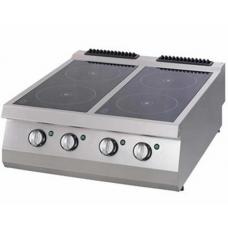 Full  Module 4 Infrared Heaters Electric Boiling Top, 900 serie, OSC 8090, Ozti, 7865.N1.80903.CS