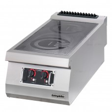 Full Module 4 Induction Heaters Electric Boiling Top, 900 serie, OSI 8090, Ozti, 7865.N1.80903.IS