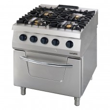 Full Module Gas Boiling Top, 4 Open Burners, 900 Serie, OSOG 8090, Ozti, 7865.N1.80903.20