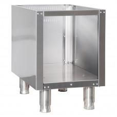 Base Cupboard No door, OD 4090, Ozti, 7876.N1.40905.10