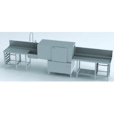 Single-tank rack conveyor dishwasher, serie ST, STR 130 Energy with drying zone, Winterhalter