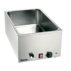 Bain Marie, 1/1GN, Bartscher 150mm, w. faucet