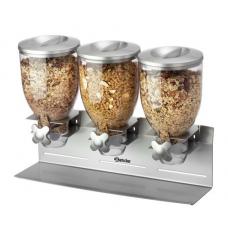 3-piece cereal dispenser Bartscher