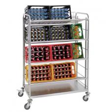 Beverage crate trolley Bartscher TGK400
