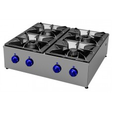 Gas cookers top 4 burners, Primax Chef serie Safari MG0606