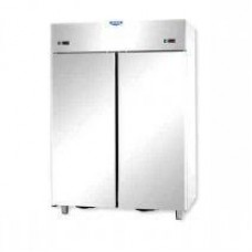 2 doors double temperature (NT + LT) Stainless Steel 1200 Refrigerated Cabinet Tecnodom AF12EKOPN